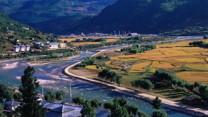 Vista panorámica del valle de Paro