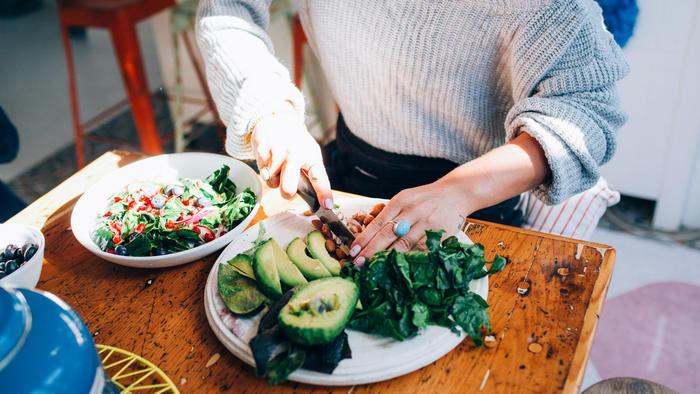 Aguacate como parte de la dieta