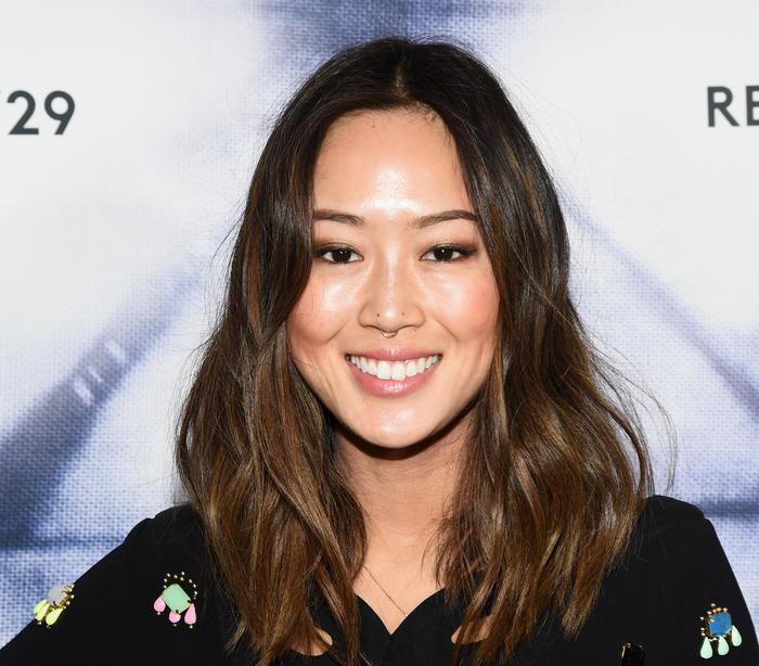 Aimee Song, con un piercing en el tabique