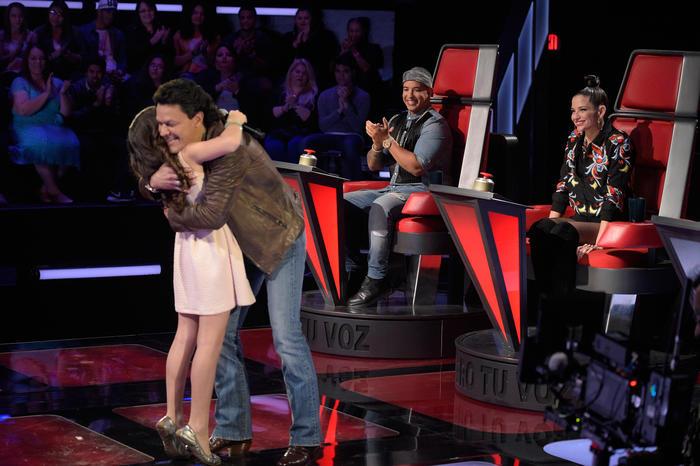 Alaia Pedro Fernández Natalia Jiménez Daddy Yankee Audiciones a Ciegas 2016