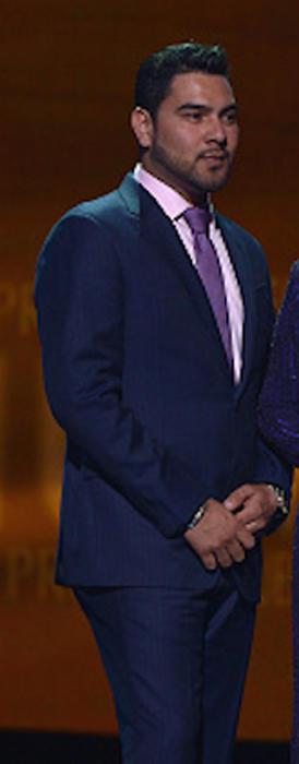 Alan Manuel Ramírez Salcido en Premios Tu Mundo 2015