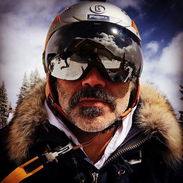 Alejandro Fernández esquiando, 2016