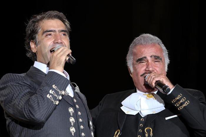 Alejandro Fernández y Vicente Fernández en Jalisco 2009