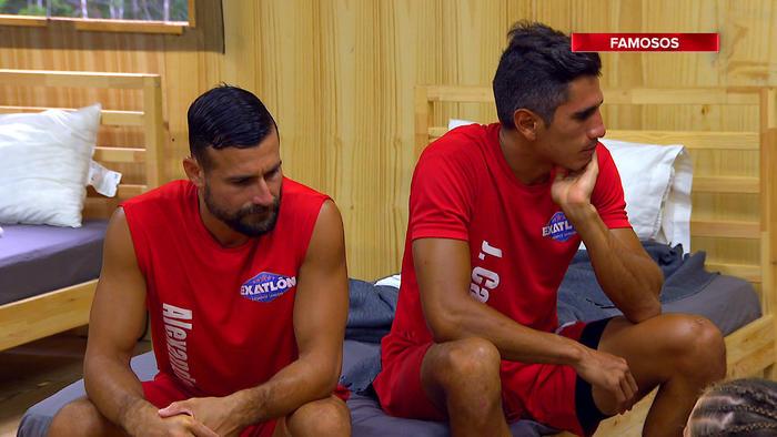 Alexander y JC Herrera preocupados en La Cabaña