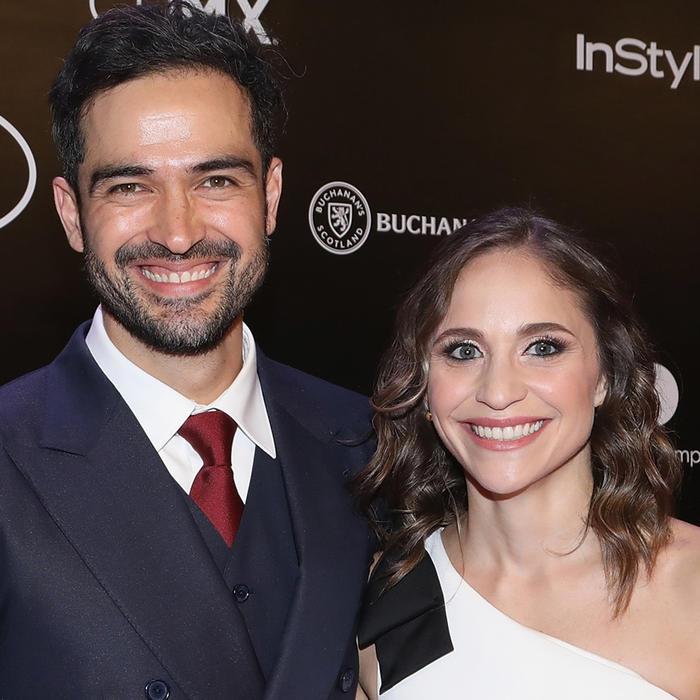 Alfonso Herrera y Diana Vázquez