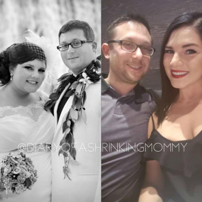 Amanda Tysowski antes y después