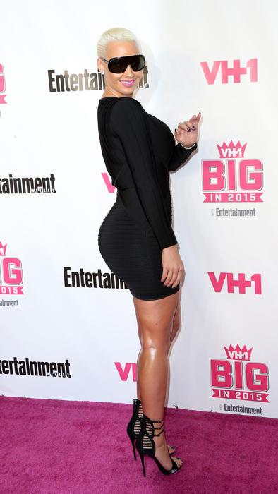 Amber Rose en los premios VH1 Big in 2015
