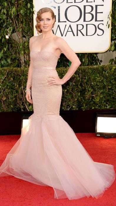 Amy Adams en los Golden Globes 2013