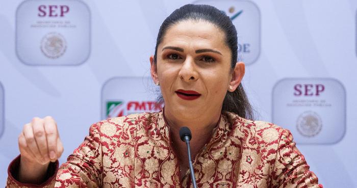 Ana Guevara alcaldesa de Ciudad de México en una imagen de archivo