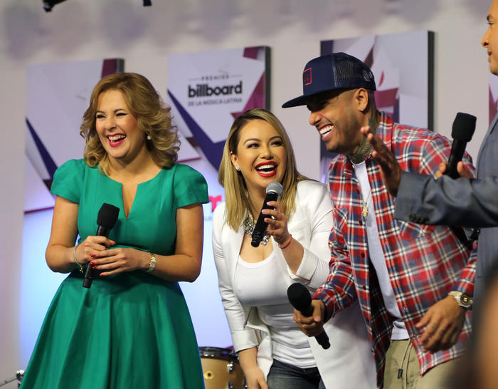 Ana Maria Canesco Chiquis Rivera y Nicky Jam Latin Billboards