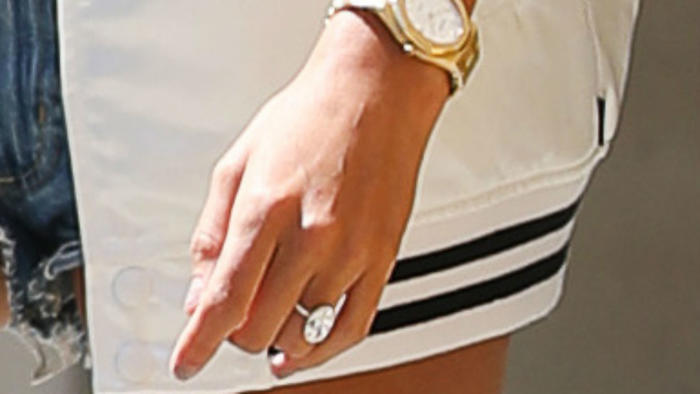 Anillo de Hailey Baldwin