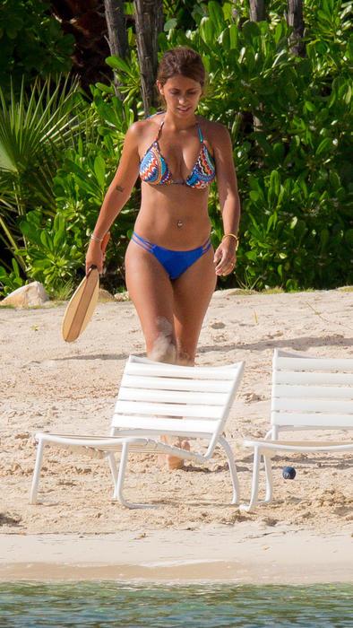 Antonella Roccuzzo en bikini