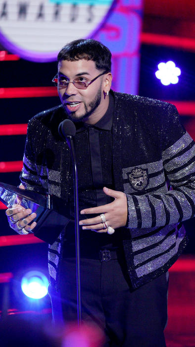 Anuel AA en los Latin American Music Awards 2019