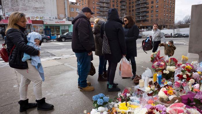 En el trágico accidente sucedido en un cruce de Brooklyn murieron Joshua Lew, de un año, y a Abigail Blumenstein, de 4 años.
