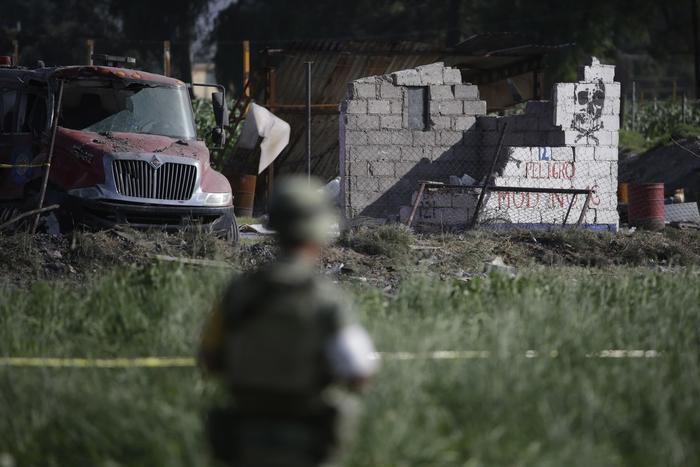 Edificio derruido en Tultepec
