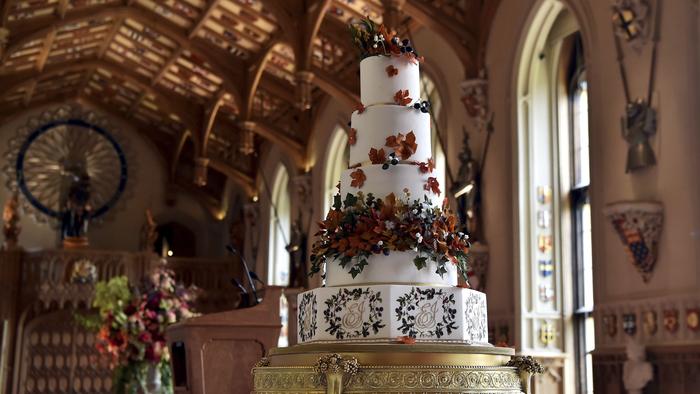 El pastel fue preparado por Sophie Cabot