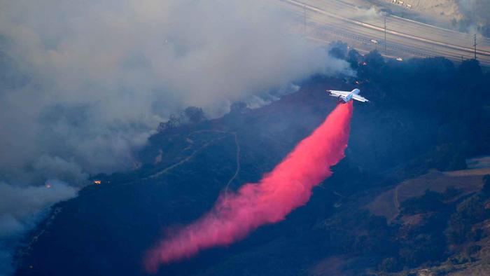 air tanker fire