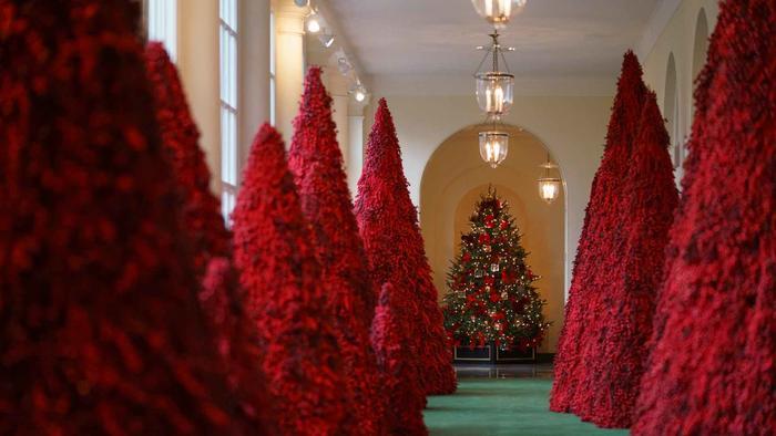 La Primera Dama publicó un video recorriendo la Casa Blanca.