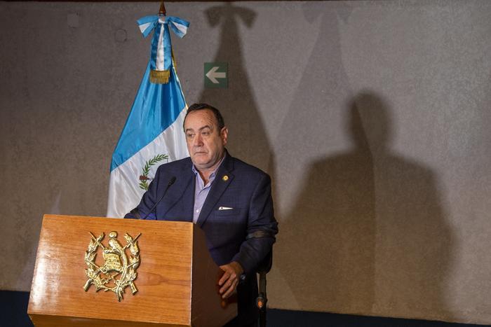 Alejandro Gianmattei, presidente de Guatemala.