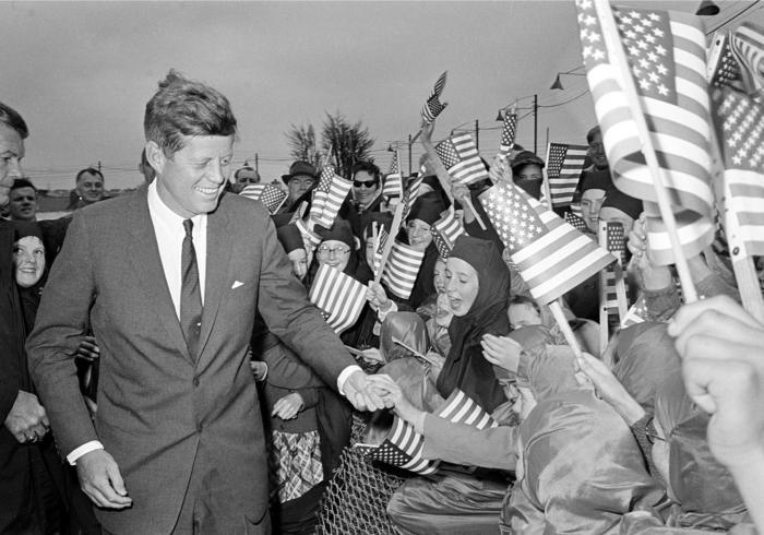 John F. Kennedy, en un acto en junio de 1963.