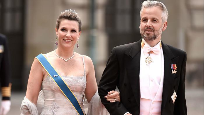 Ari Behn y la princesa Martha Louise