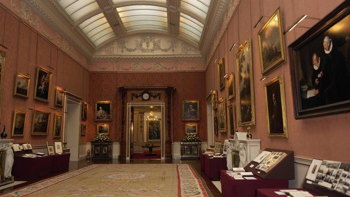 arte en el palacio de buckingham