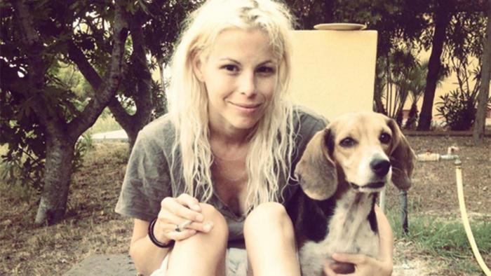 ashley olsen y su perro