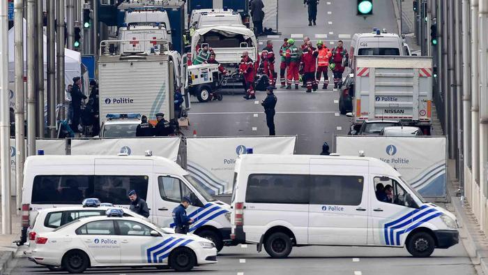 la ciudad se encuentra paralizada tras los ataques terroristas