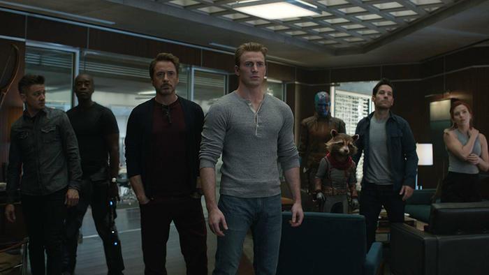 "Escena de ""Avengers: Endgame"""