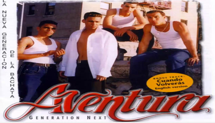 Aventura Generation next debut álbum Romeo Santos 1999
