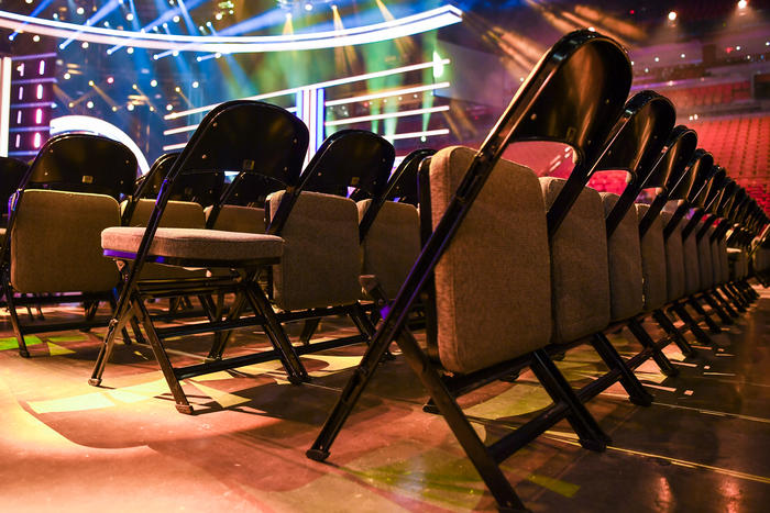 Backstage Premios Tu Mundo 2016 ensayos