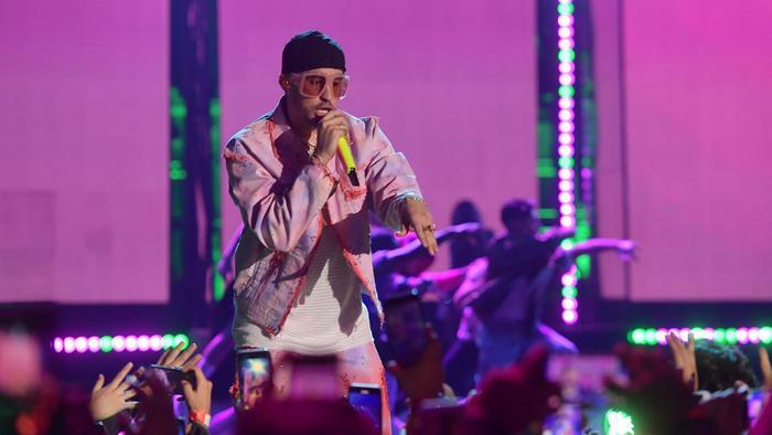 Bad Bunny Spotify Awards 2020