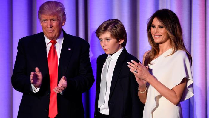 Barron Trump 2016