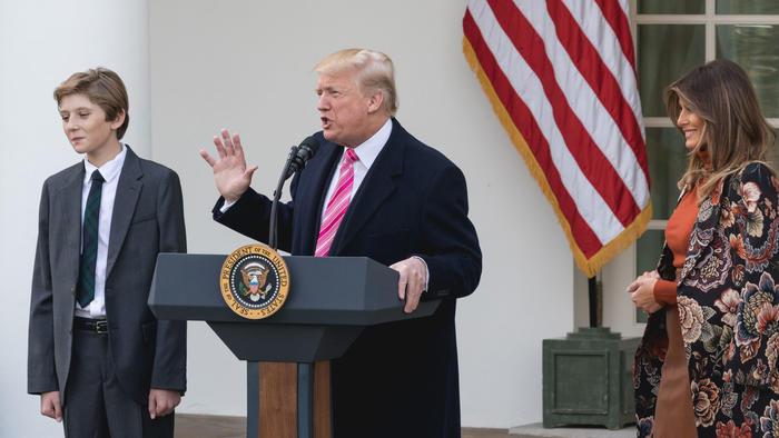 Barron Trump 2017