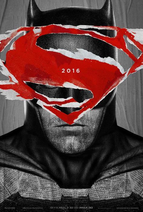 """Póster de la película """"Batman v Superman: Dawn of Justice""""."""