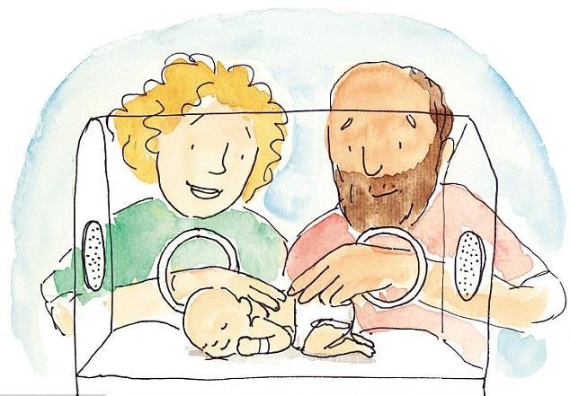 Resultado de imagen de dibujos de bebes prematuros