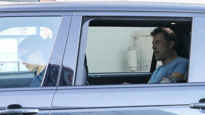 Ben Affleck en el carro