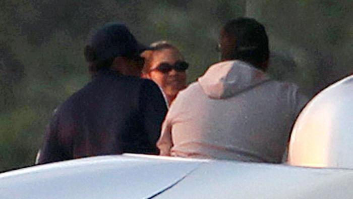 Beyoncé y Jay-Z en un viaje en yate