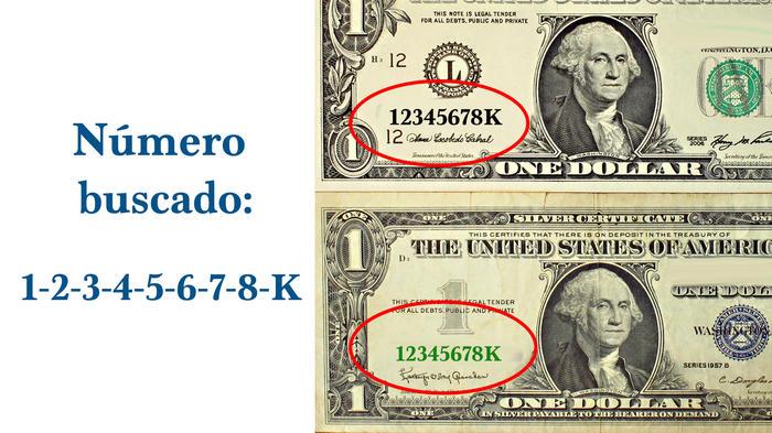 Billete de un dólar podría valer miles de dólares