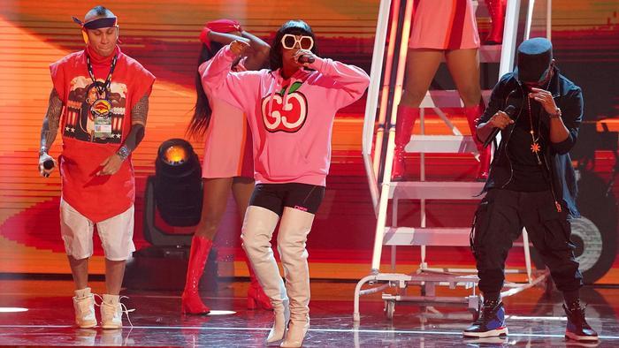 Black Eyed Peas en los ensayos de los Premios Billboard 2020