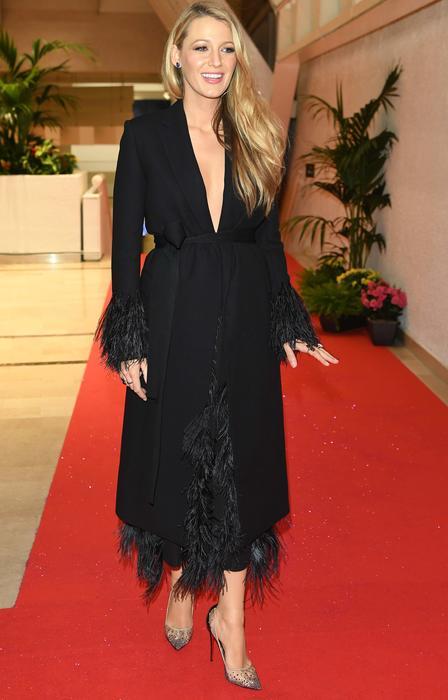 Blake Lively en la gala de apertura de el Festival de Cannes 2016