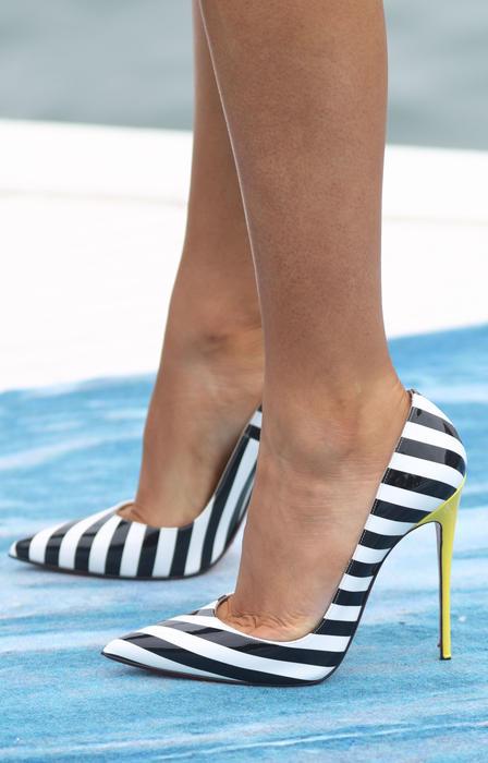 Detalle zapatos Blake Lively en Cannes