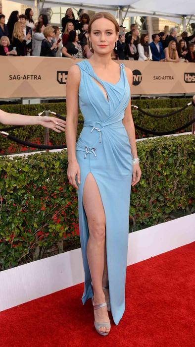 Brie Larson en la alfombra roja de SAG Awards 2015