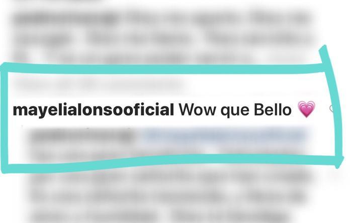 Mayeli Alonso comentario sobre palabras de Pedro Rivera Jr