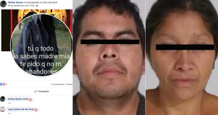 Las páginas de FB de presuntos feminicidas de Ecatepec eran una loa a la muerte y el satanismo