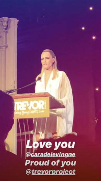 Cara Delevingne en la gala Gala TrevorLIVE 2019