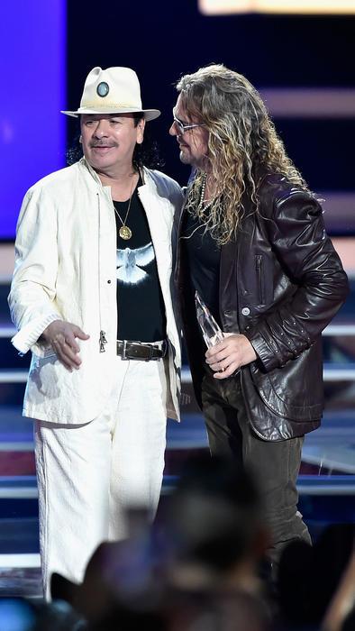 Carlos Santana y Fher