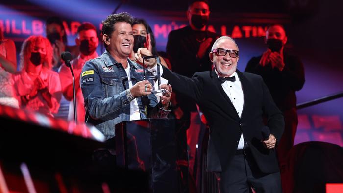 Carlos Vives en los Premios Billboard de la Música Latina 2020