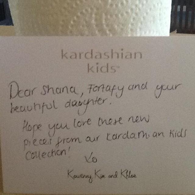 Carta de Kardashian Kids