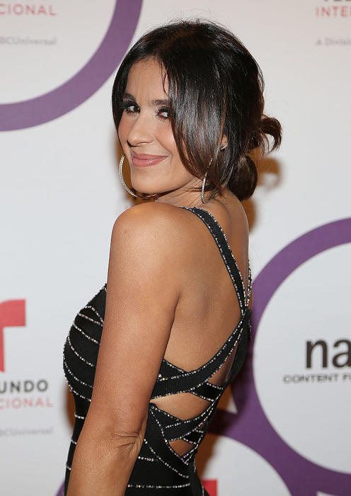 Catherine Siachoque =NATPE 2015 - Telemundo International Red Carpet Event